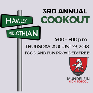 3rd Annual Community Cookout