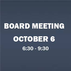 Board Meeting 10/6
