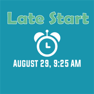 Late Start August 29, Graphic