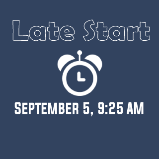 Late Start September 5 Graphic