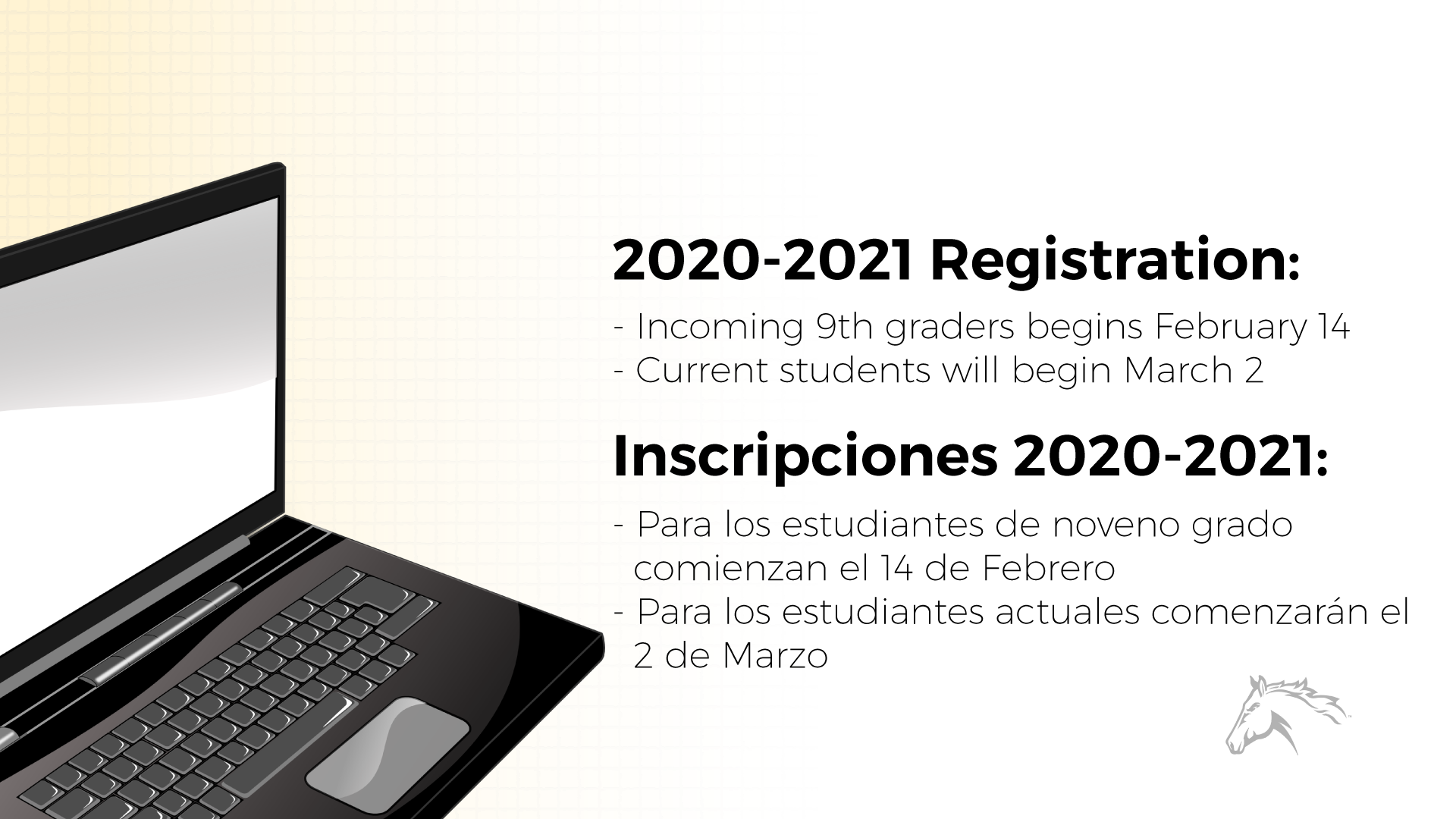 MHS Registration 2020 Graphic