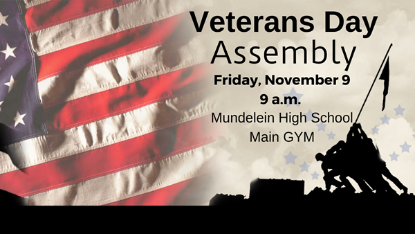 Veterans Day Assembly at MHS 11/9