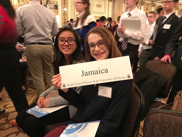 Model UN Conference in Chicago