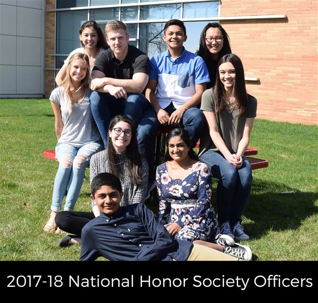 1718 national honor society officers
