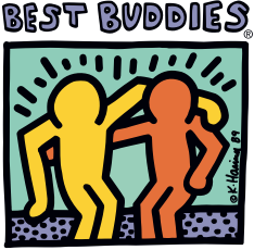 best buddies keith haring logo
