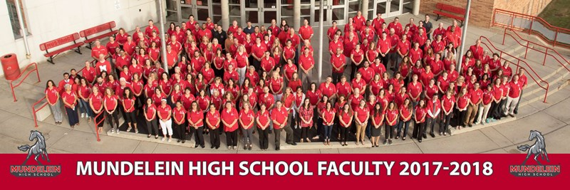 2017-2018 Mundelein High School Staff Photo
