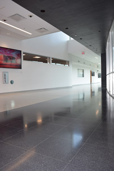 Main Hallway in STEM Addition Wing