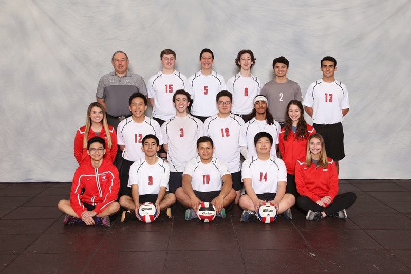 boys volleyball varsity