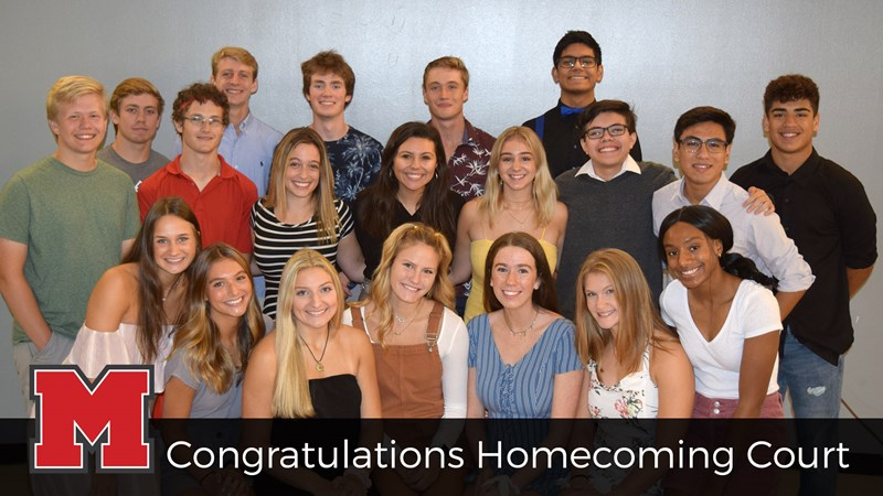 Homecoming Court Top 10