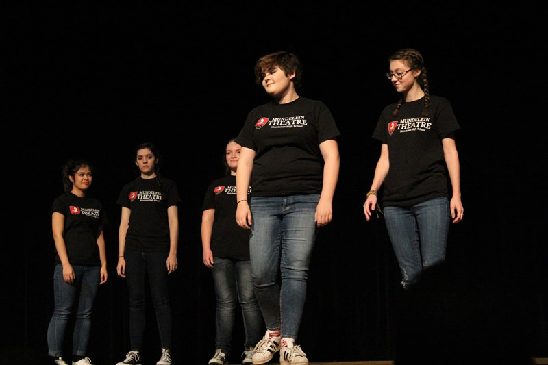 mundelein theatre gear shirts