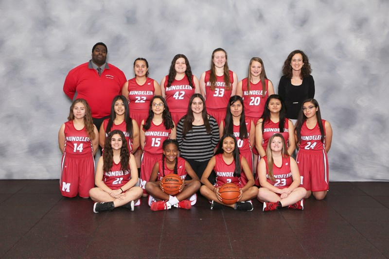 freshman girls basketball team