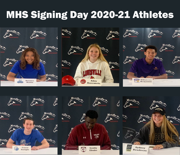 College Day Signing 2020-21