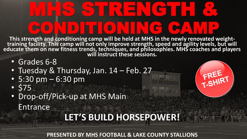 STRENGTH CONDITIONING CAMP Graphic