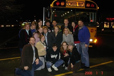 MHS Students at 2006 Theatre Fest