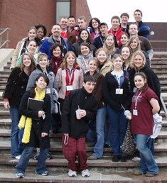 MHS Students at 2007 Theatre Fest