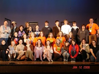 MHS Students at 2008 Theatre Fest