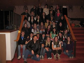 MHS Students at 2009 Theatre Fest