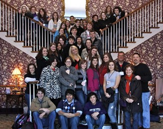 MHS Students at 2010 Theatre Fest