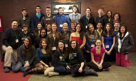 MHS Students at 2012 Theatre Fest