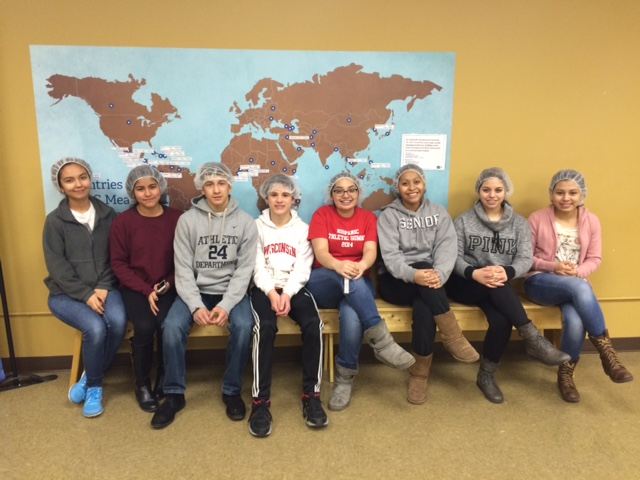 spanish club at feed my starving children