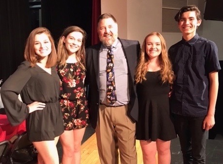 2017-2018 mhs theatre officers